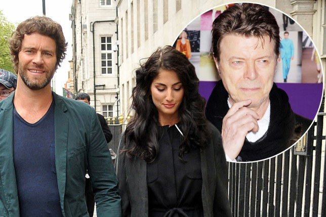 Howard Donald has named his baby Bowie WENN / Rex