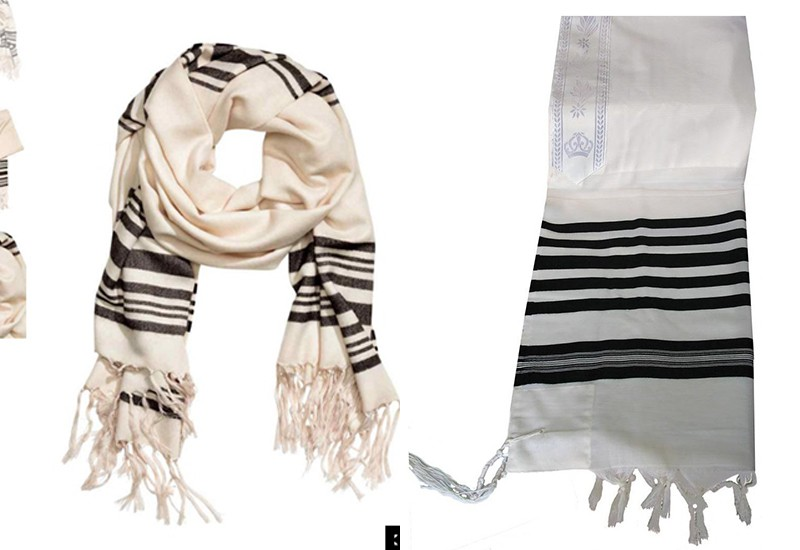 H&M is selling a scarf that looks like a Jewish prayer shawl and people are angry