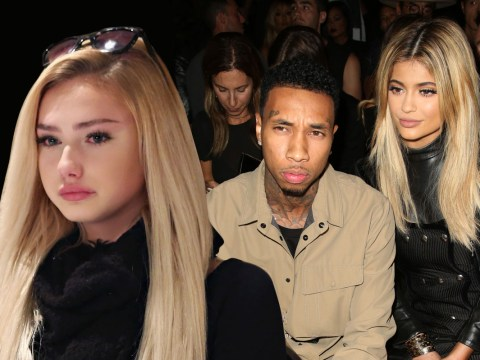 Kylie Jenner's boyfriend Tyga has been texting a 14-year-old girl
