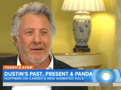 Dustin Hoffman isn't sure what animal he plays in the Kung Fu Panda movies…