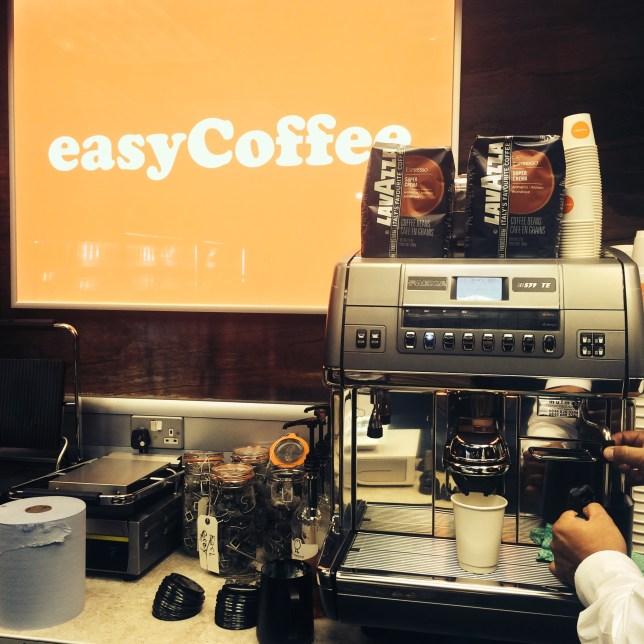 easycoffee shop (Picture: Deborah Arthurs)
