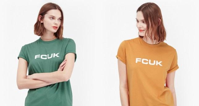fcuk 90s tshirt