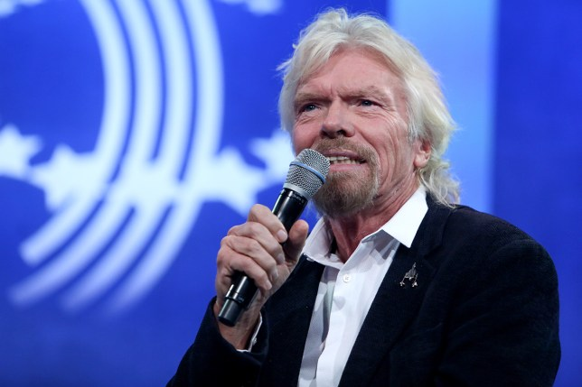 Richard Branson has been awarded a lucrative NHS deal (Picture: Getty Images)