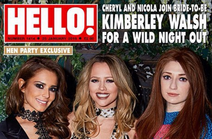 There were a couple of Girls Aloud stars missing from Kimberley Walsh's hen do