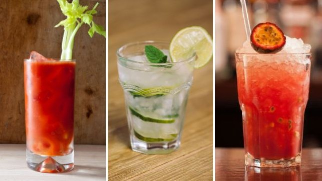 alcohol free drinks and cocktails for dry January