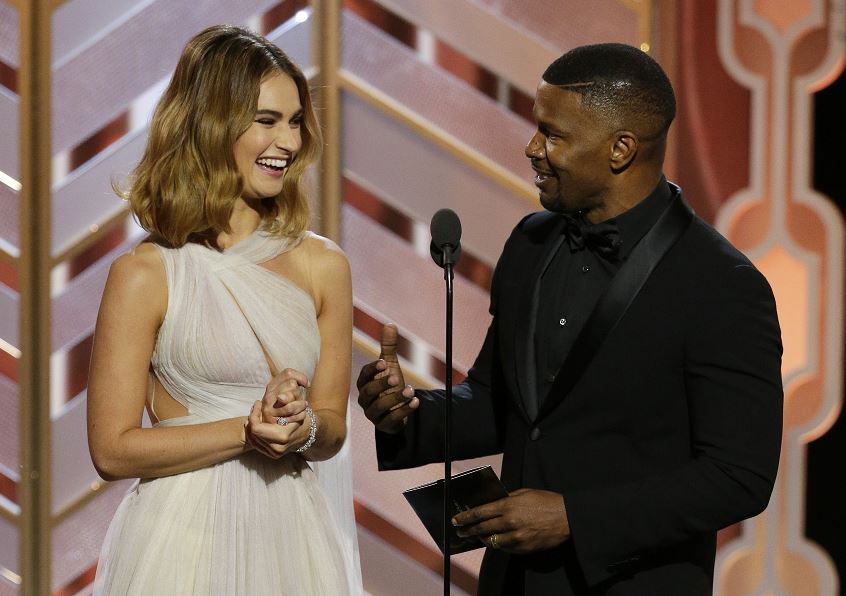 Golden Globes 2016: Jamie Foxx pulled a Steve Harvey while presenting Best Original Score