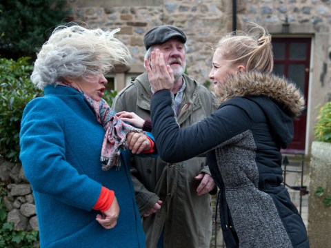 Emmerdale spoilers: Belle Dingle launches shock attack on Joanie Wright as Lisa collapses