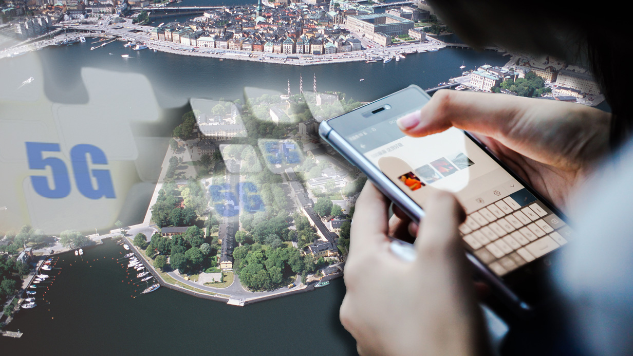 BBX4NG Aerial view of Stockholm.