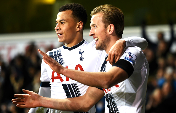 during the Barclays Premier League match between Tottenham Hotspur and West Ham United at White Hart Lane on November 22, 2015 in London, England.