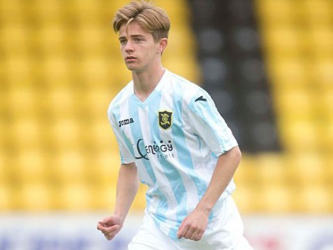 Manchester United take Livingston striker Matthew Knox on trial