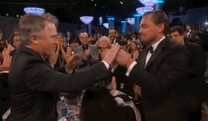 Golden Globes 2016: Leonardo DiCaprio's awkward fist bump fail nearly overshadowed his Best Actor win