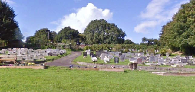 Lostwithiel cemetery where vases and plants have been banned Picture: Google Street View)