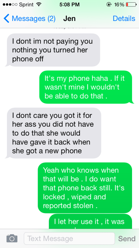 Man uses Find My iPhone to wipe phone that ex girlfriend stole