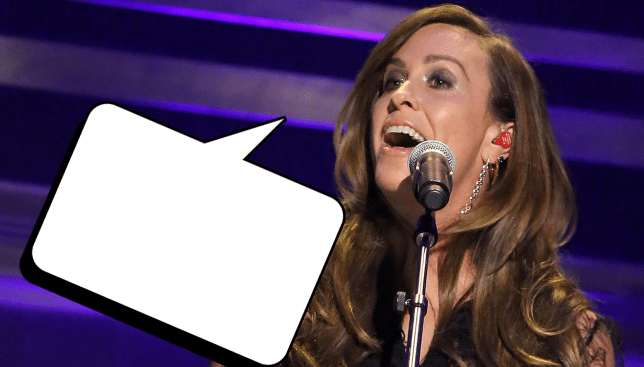 Alanis Morrisette is now an agony aunt - was trending on Twitter Source: Getty Images Credit: METRO