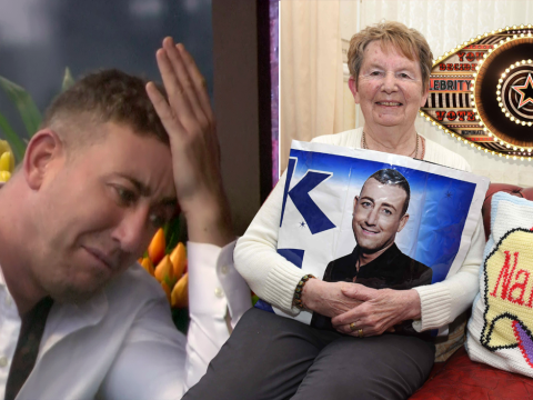 Christopher Maloney's nan tried to stop him going on CBB – by locking him in the spare room