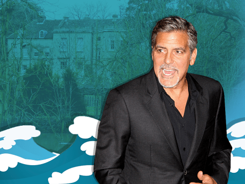 George Clooney faces flood threat to new house as River Thames invades his garden