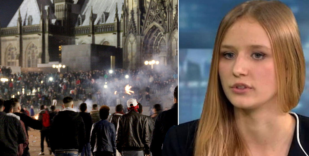 Teenager assaulted in Cologne sex attacks speaks of her terrifying ordeal