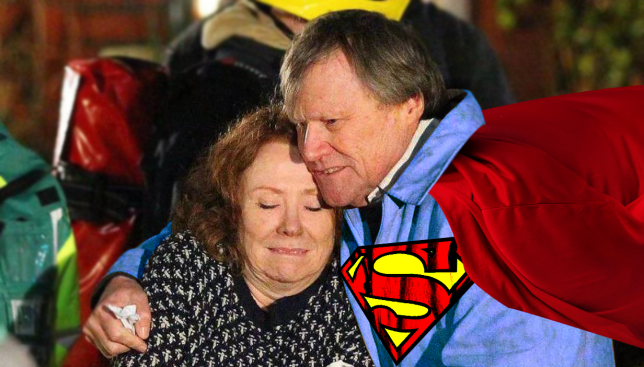 Roy's a Corrie super hero Source: Alamy Credit: Myles Goode