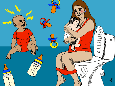 12 alternative ways to get your baby to go the f*** to sleep