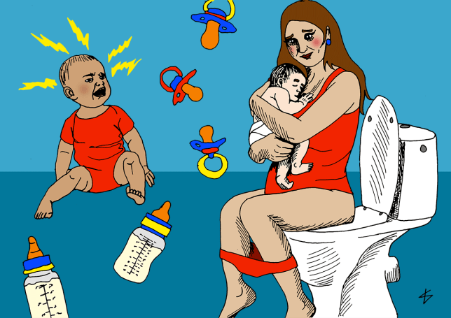 16 actually useful ways to prepare yourself for having a baby (Picture: Liberty Antonia Sadler)