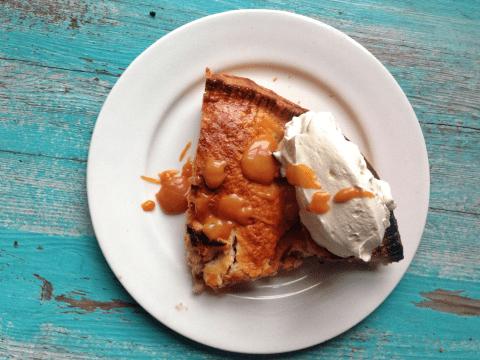 National Pie Day recipe: Boozy salted caramel apple pie