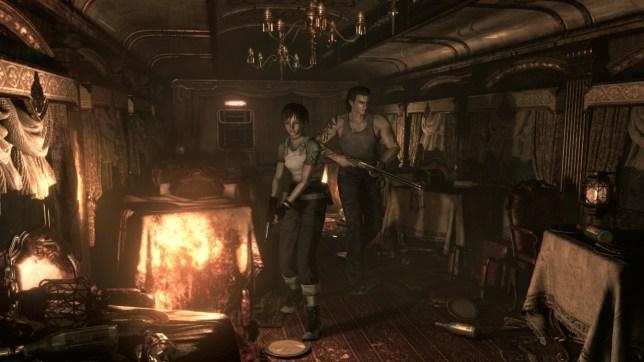 Resident Evil 0 (PS4) - the remaster train rattles on