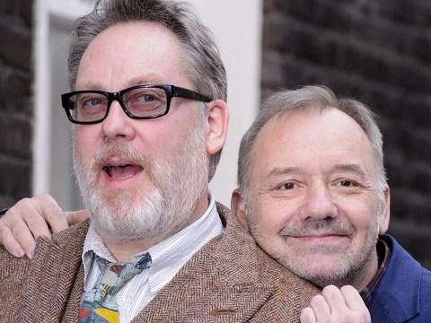 Bob Mortimer got married half an hour before undergoing triple heart bypass operation