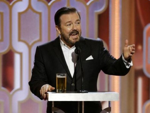 WATCH: Ricky Gervais' Golden Globes 2016 opening monologue was offensive as ever