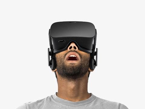 Oculus Rift VR headset costs £500