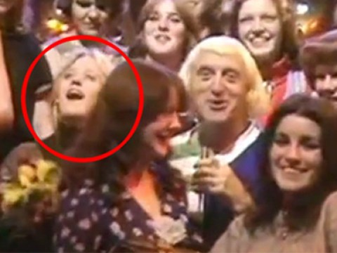 Video emerges of Jimmy Savile groping woman live on TV