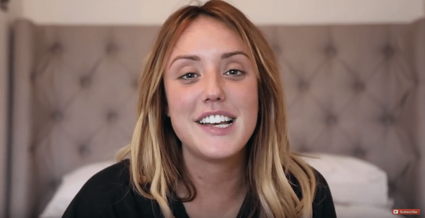 Geordie Shore Charlotte Crosby (Picture: Charlotte Crosby/YouTube)