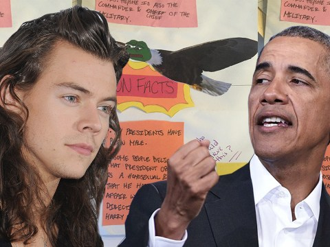 This middle-school student is convinced Barack Obama is dating Harry Styles