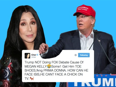Cher just wrecked presidential hopeful Donald Trump with one little tweet
