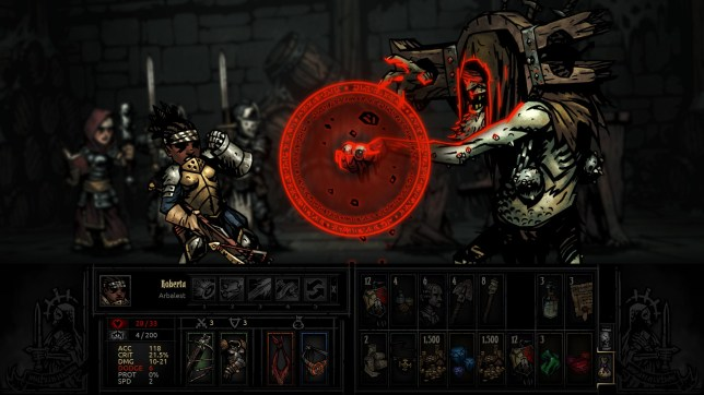 Darkest Dungeon (PC) - defeating evil is so stressful