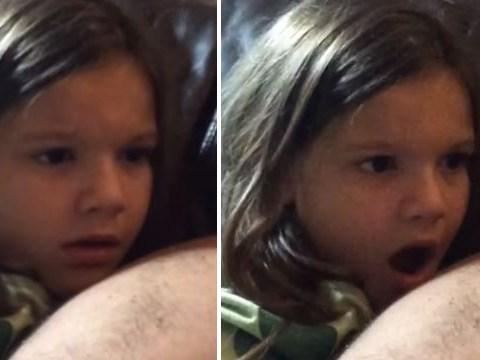 Little girl learns who Luke Skywalker's father is – has her mind blown