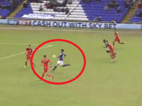 Arsenal kid Jon Toral scores wonder goal for loan club Birmingham City