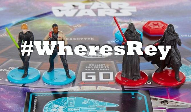 Hasbro's excuse for not including Rey in their Star Wars Monopoly is bulls**t