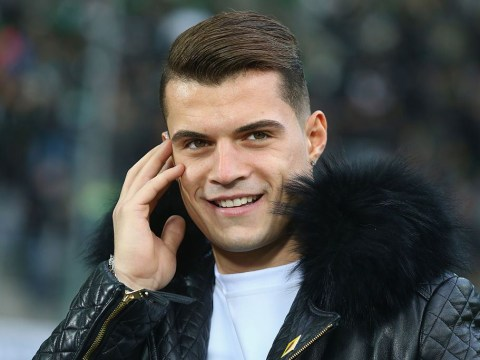 Granit Xhaka knows which shirt he'd pick if he made Arsenal transfer