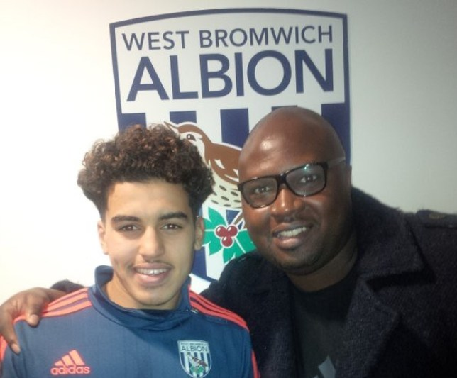 Yasin Ben El-Mhanni is on trial with West Brom this week. (Picture: Lewes Twitter)
