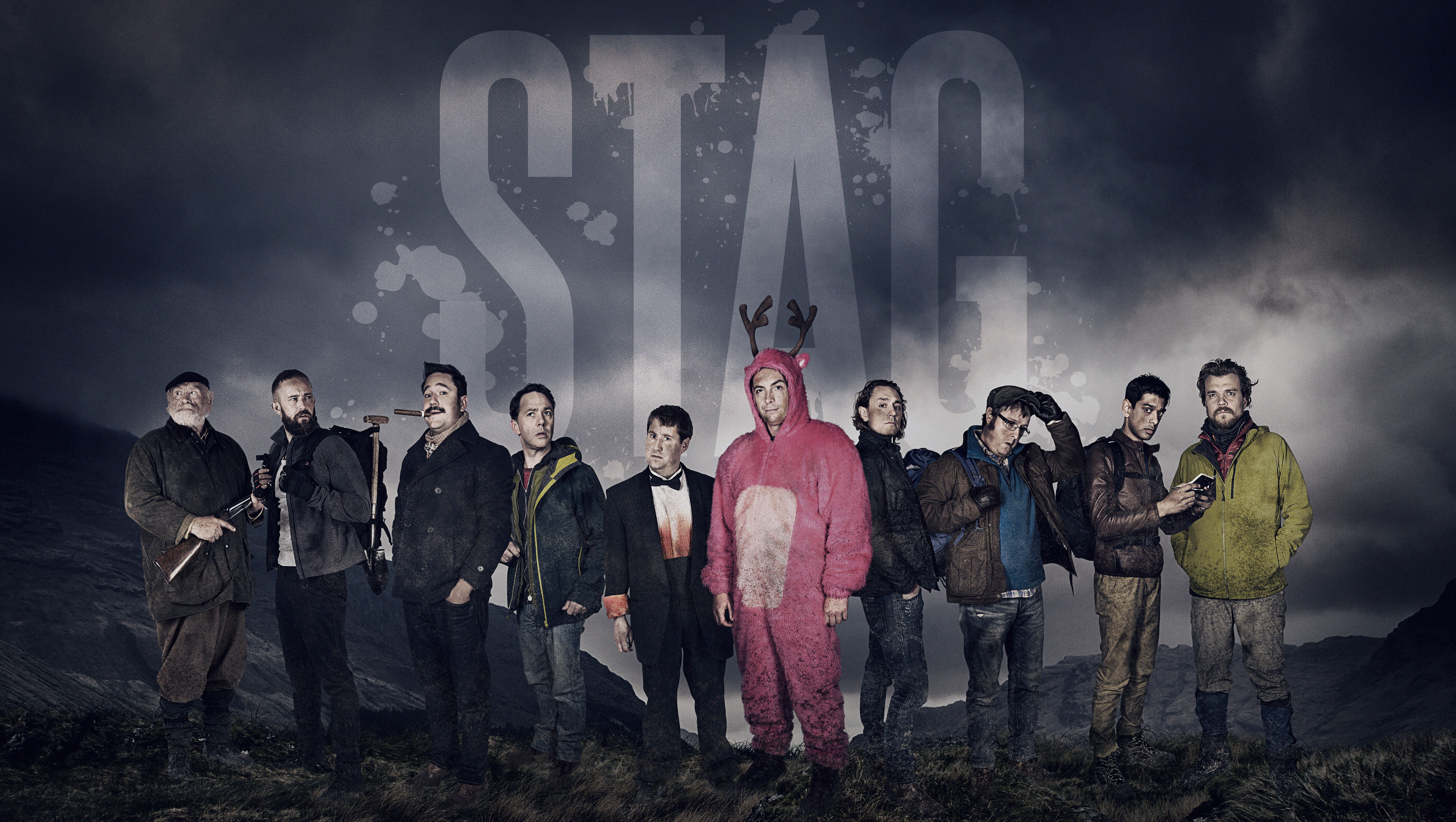 Hilarious new BBC comedy Stag is 'Bullingdon Club meets The Revenant'