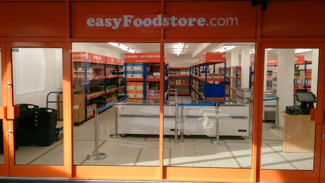 easyJet's 25p supermarket: Everything you need to know about new store set to challenge Aldi and Lidl Credit: Facebook/easyFoodstore