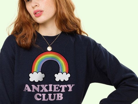 People aren't impressed with this 'Anxiety Club' jumper
