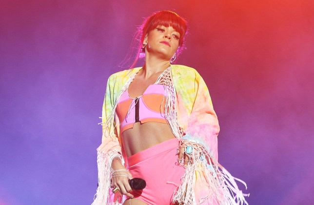 BYRON BAY, AUSTRALIA - JULY 27: Lily Allen performs on stage at Splendour In the Grass 2014 on July 27, 2014 in Byron Bay, Australia. (Photo by Mark Metcalfe/Getty Images)