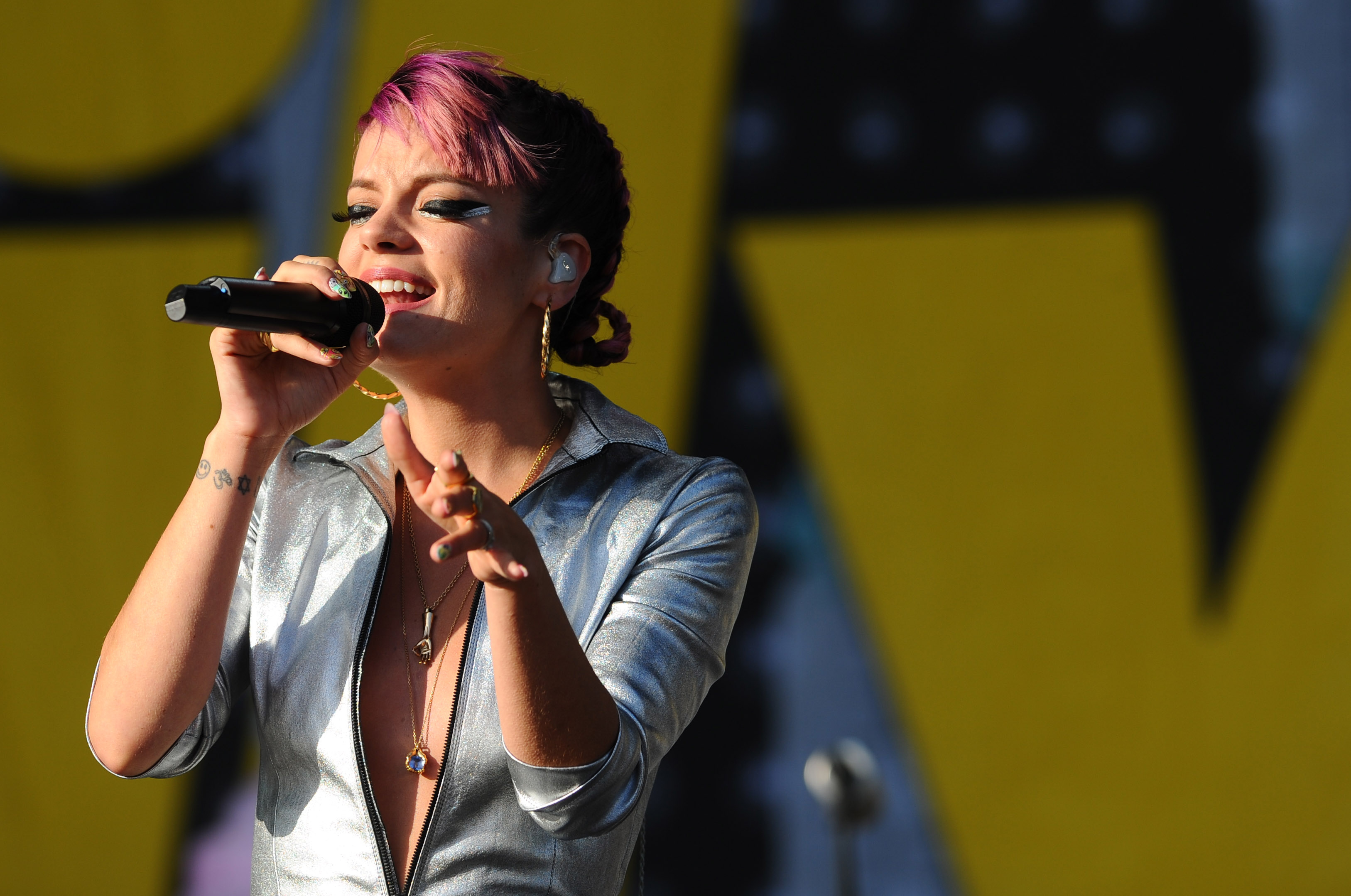 Lily Allen faces wrath after tweet calling for football to be banned for kids