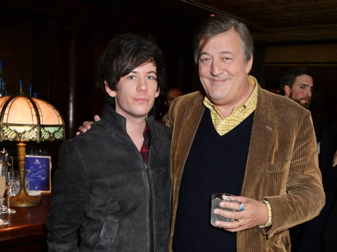 Stephen Fry admits his husband Elliot Spencer 'saved his life'