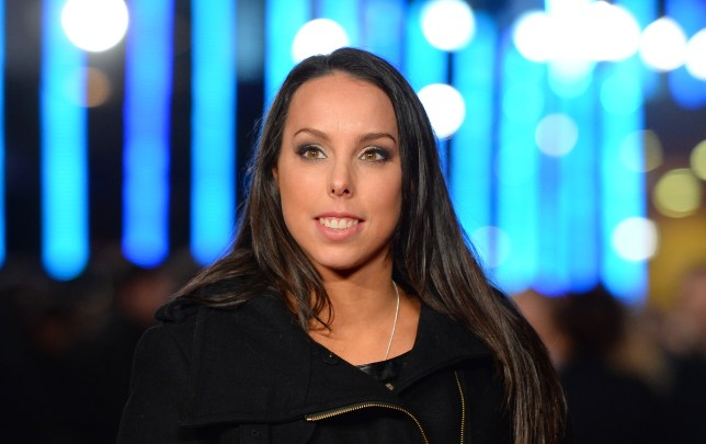 """British Olympic gymnast Beth Tweddle poses for pictures upon arrival to attend the European premier of """"Jack Ryan: Shadow Recruit"""" in central London on January 20, 2014. AFP PHOTO/LEON NEAL (Photo credit should read LEON NEAL/AFP/Getty Images)"""