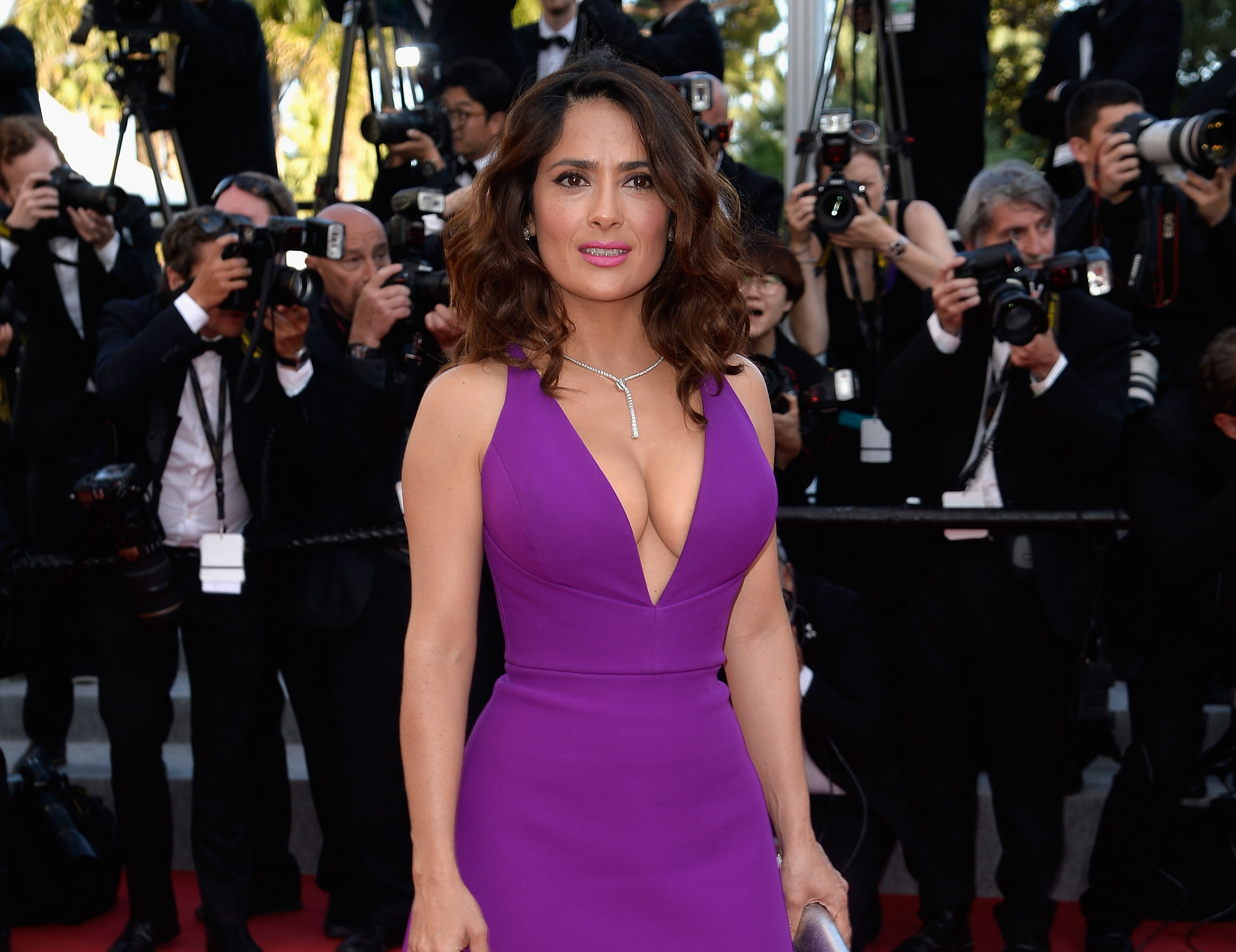 Why Salma Hayek doesn't think sex is the key to a happy marriage