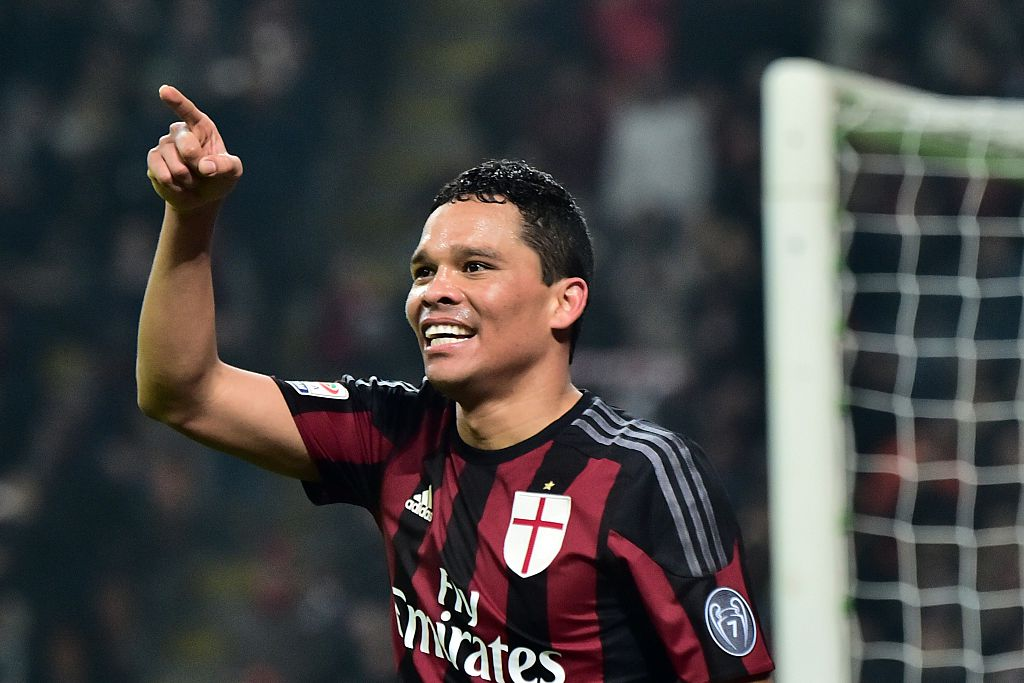 Carlos Bacca's agent hints striker could leave AC Milan amid Chelsea interest
