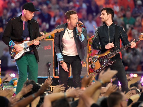 A lot people wanted to know if Coldplay and Chris Martin are gay after watching the Super Bowl