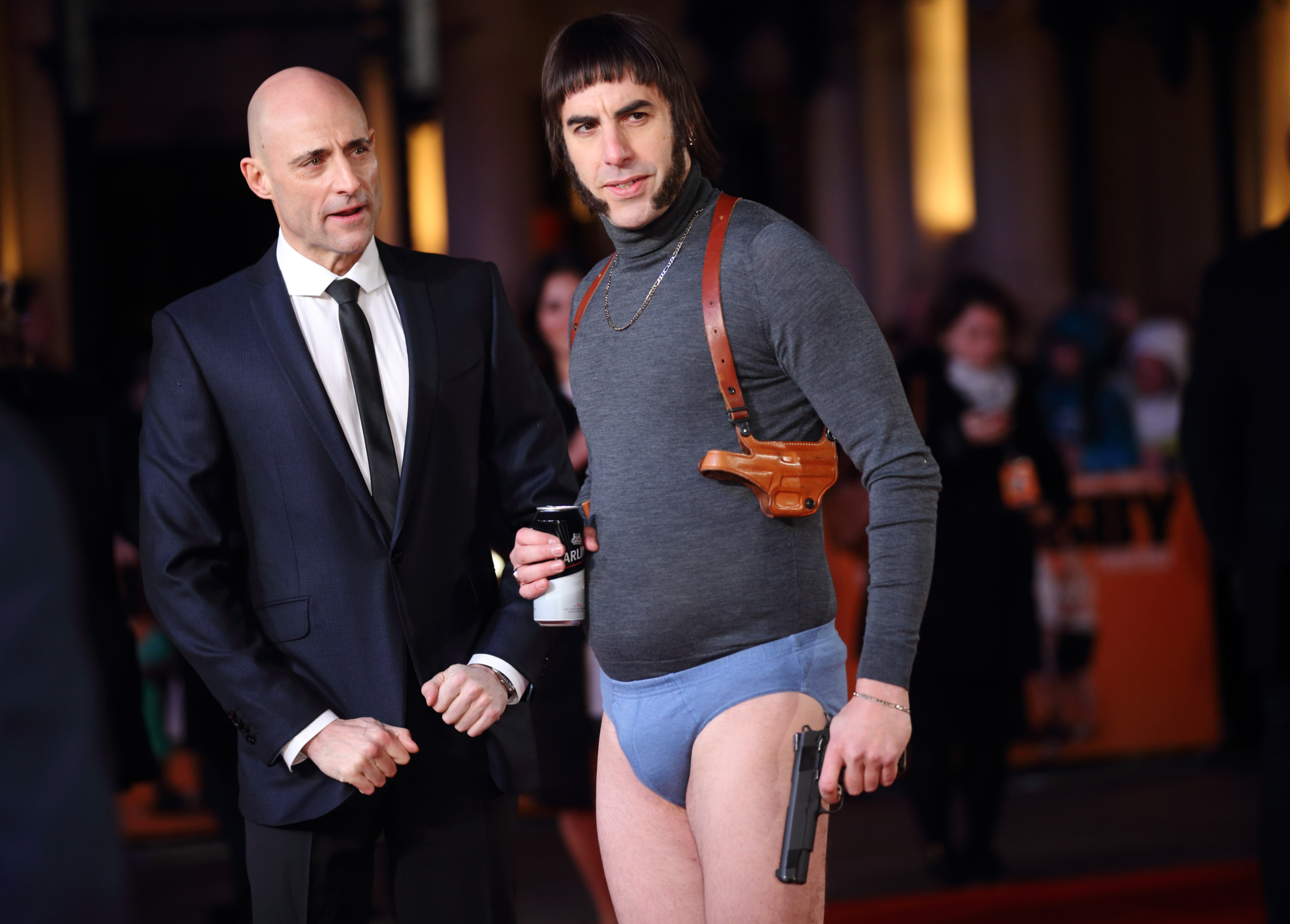 Sacha Baron Cohen takes a swipe at Oscars 'racism' at Grimsby premiere